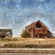 Abandoned Farm 01 Photo Art Poster
