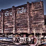 Abandoned Rio Grande Poster