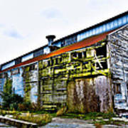 Abandoned Warehouse On The Swinomish Channel - La Conner Washington Poster