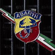 Abarth Emblem Poster