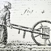 Abbe Soumille's Seed Drill Poster