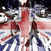 Abbey Road Union Jack Poster