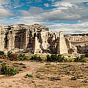 Abiquiu New Mexico Plaza Blanca In Technicolor Poster