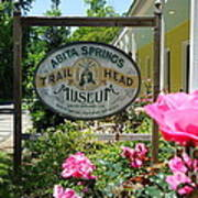 Abita Springs Trailhead Museum Poster by Katie Spicuzza
