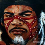 Aborigine Hunter Poster