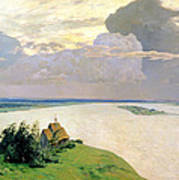 Above The Eternal Peace Poster by Isaak Ilyich Levitan