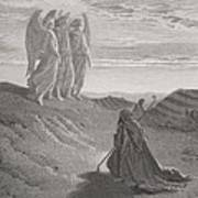 Abraham And The Three Angels Poster