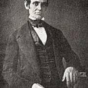 Abraham Lincoln, 1809 – 1865.  16th President Of The United States Of America.  From Abraham Poster