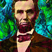 Abraham Lincoln 2014020502p145 Poster by Wingsdomain Art and Photography