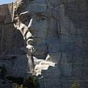 Abraham Lincoln Mount Rushmore National Monument Poster