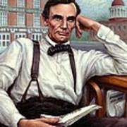 Abraham Lincoln Of Springfield Bicentennial Portrait Poster