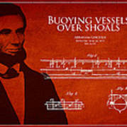 Abraham Lincoln Patent From 1849 Poster by Aged Pixel