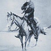 Abraham Lincoln Riding His Judicial Circuit Poster