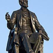 Abraham Lincoln Statue Philadelphia Poster