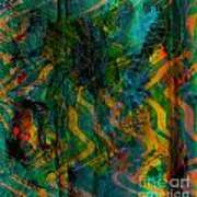 Abstract - Emotion - Apprehension Poster
