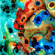 Abstract 4 - Abstract Art By Sharon Cummings Poster