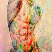 Abstract Body 5 Poster by Mark Ashkenazi