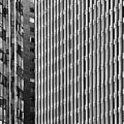 Abstract Buildings Poster
