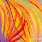 Abstract Colorful Lines Poster