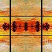 Abstract Cracker Tapestry Poster