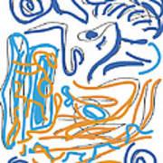 Abstract Digital Poster