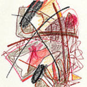 Abstract Drawing Twenty-one Poster