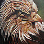 Abstract Eagle Painting Poster