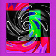 Abstract En Coulor Poster