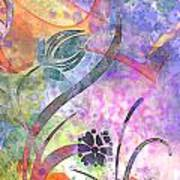 Abstract Floral Designe - Panel 2 Poster