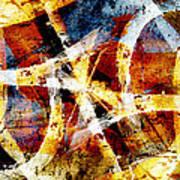 Abstract Graffiti 2 Poster