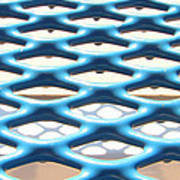 Abstract Grate Poster