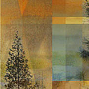 Abstract Landscape One Poster