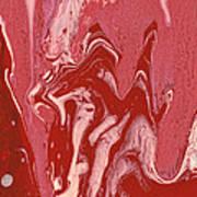Abstract - Nail Polish - Tongue Poster by Mike Savad