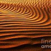 Abstract Sand Pattern  Poster