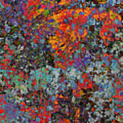 Abstract Spring Poster
