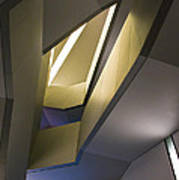 Abstract Stairwell Poster