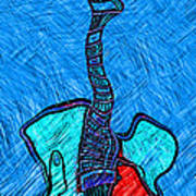 Abstract Strings 4 Poster