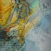 Abstract Tarot Art 015 Poster