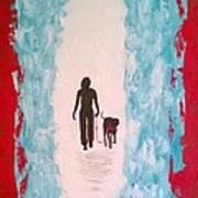 Abstract Walk Poster