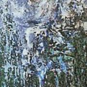 Abstract Winter Landscape Poster