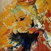 Abstract Women 010 Poster