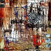 Abstraction 758 - Marucii Poster