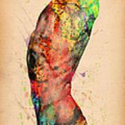 Abstractiv Body - 3 Poster by Mark Ashkenazi