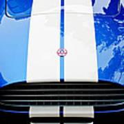 Ac Shelby Cobra Grille - Hood Emblem Poster