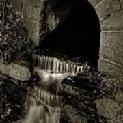 Acadia Waterfall Poster
