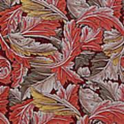 Acanthus Leaf Poster