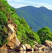 Acapulco Lagoon Poster