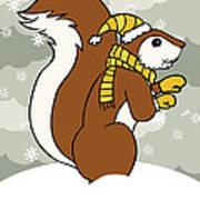 Acorn Winter Poster