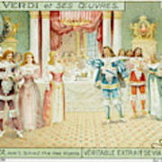 Act One  Alfredo Meets  Violetta Poster