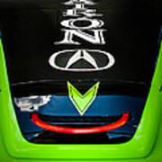 Acura Patron Car Hood Poster